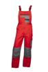 Obrázok z 2STRONG Pracovné nohavice s trakmi červené