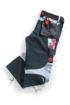 Obrázok z R8ED+ Pracovné nohavice do pásu čierne predlžené