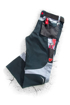 Obrázok z R8ED+ Pracovné nohavice do pásu čierne skrátené