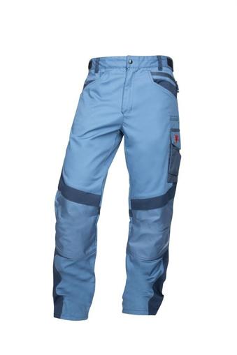 Obrázok z R8ED+ Pracovné nohavice do pásu modré skrátené