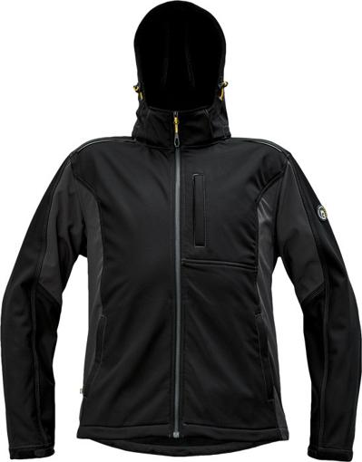 Obrázok z Červa DAYBORO Pánska softshellová bunda čierna / antracit