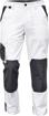 Obrázok z Červa CREMORNE Pracovné nohavice do pásu biela / šedá
