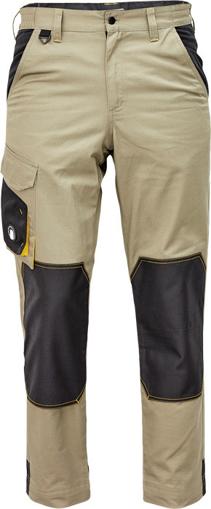 Obrázok z Červa CREMORNE Pracovné nohavice do pásu olivová / čierna