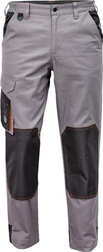 Obrázok z Červa CREMORNE Pracovné nohavice do pásu šedá / čierna
