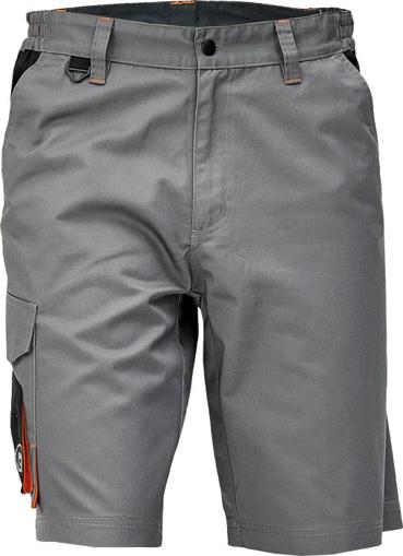 Obrázok z Cerva CREMORNE Pracovné šortky šedá / čierna
