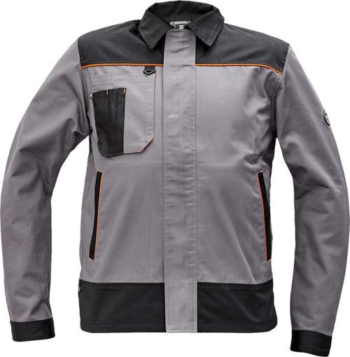 Obrázok z Cerva CREMORNE Pracovná bunda šedá / čierna