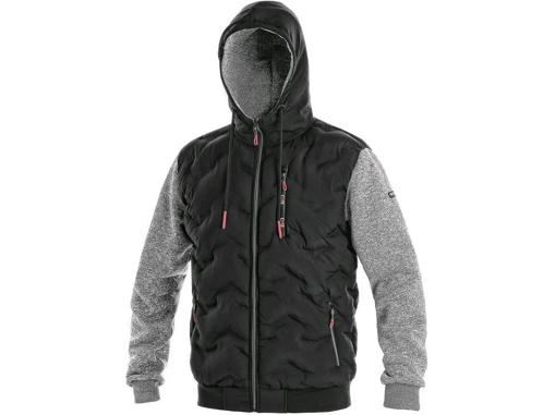 Obrázok z CXS FLINT Pánska bunda čierno / sivá