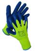 Obrázok z BAN BLUERICO 03106 Zimné pletené rukavice s vrstvou latexu