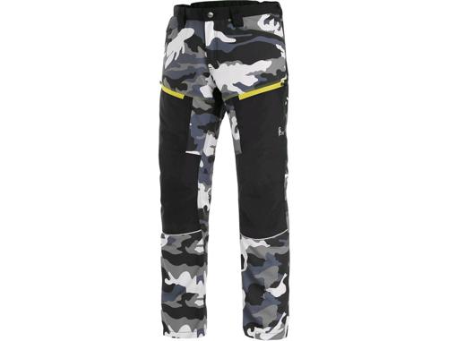 Obrázok z CXS DIXON Pánske nohavice šedo / biele (maskáč)