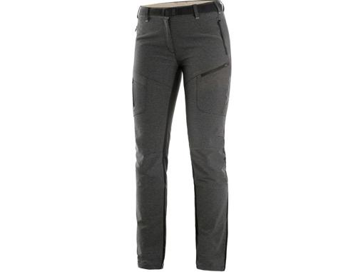 Obrázok z CXS PORTAGE Dámske nohavice šedo / čierne