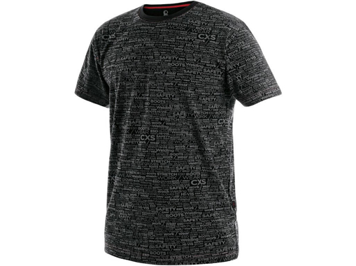 Obrázok z CXS DARREN Pánske tričko čierne