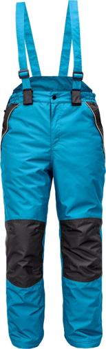 Obrázok z Cerva CREMORNE Pracovné nohavice zimné petrolejová / čierna