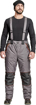 Obrázok z Cerva CREMORNE Pracovné nohavice zimné šedá / čierna
