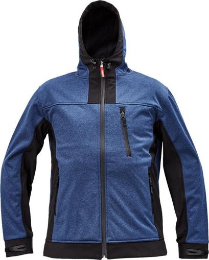 Obrázok z Cerva HUYER Pánska softshellová bunda modrá