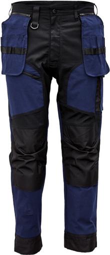 Obrázok z Cerva KEILOR Pracovné nohavice do pása navy