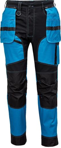 Obrázok z Cerva KEILOR Pracovné nohavice do pása modré