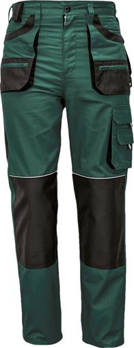 Obrázok z Fridrich & Fridrich CARL BE-01-003 Pracovné nohavice do pása zelené