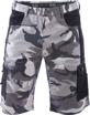 Obrázok z CRV CRAMBE Pracovné šortky šedá kamufláž