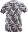 Obrázok z CRV CRAMBE Pánske tričko šedá kamufláž