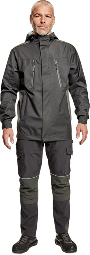Obrázok z CRV NULATO Pánska softshellová bunda šedá