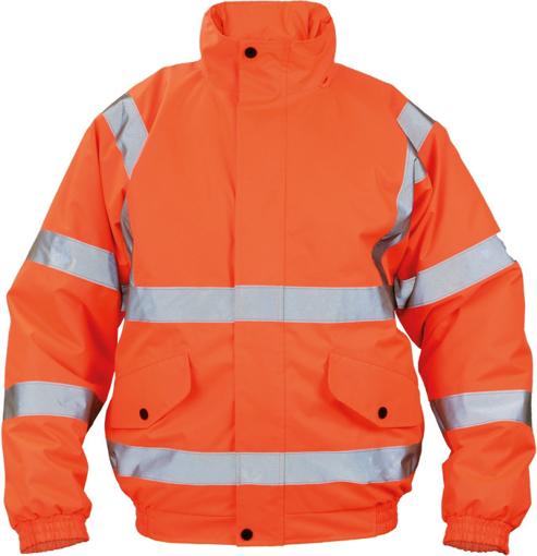 Obrázok z Cerva CLOTON HV PILOT Reflexná zimná bunda oranžová