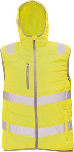Obrázok z Cerva MONTROSE HV Reflexná zimná vesta žltá