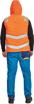 Obrázok z Cerva MONTROSE HV Reflexná zimná vesta oranžová