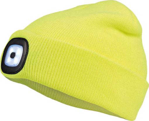 Obrázok z Cerva DEEL LED čiapka s lampou žltá