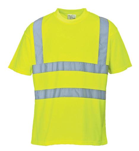 Obrázok z Portwest S478 HI-VIS Reflexné tričko žlté