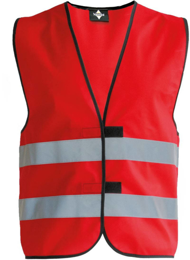 Obrázok z Korntex KW02 Reflexná vesta detská red