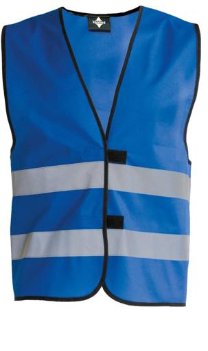 Obrázok z Korntex KW02 Reflexná vesta detská blue