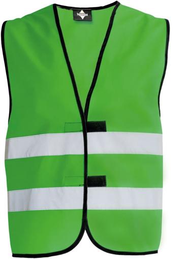 Obrázok z Korntex KW02 Reflexná vesta detská green