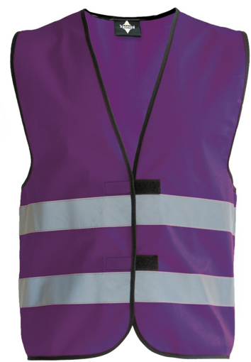 Obrázok z Korntex KW02 Reflexná vesta detská violet