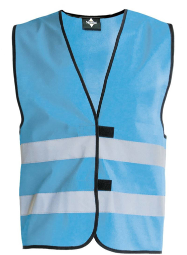 Obrázok z Korntex KW02 Reflexná vesta detská sky blue