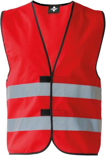 Obrázok z Korntex KXFW Reflexná vesta red