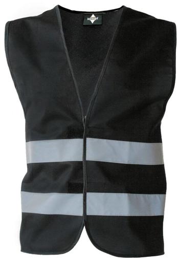 Obrázok z Korntex KXFW Reflexná vesta black