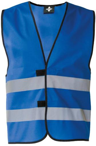 Obrázok z Korntex KXFW Reflexná vesta blue