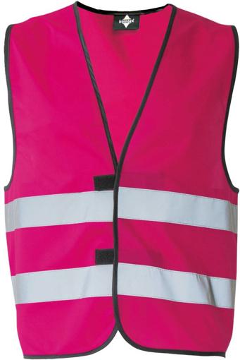 Obrázok z Korntex KXFW Reflexná vesta pink