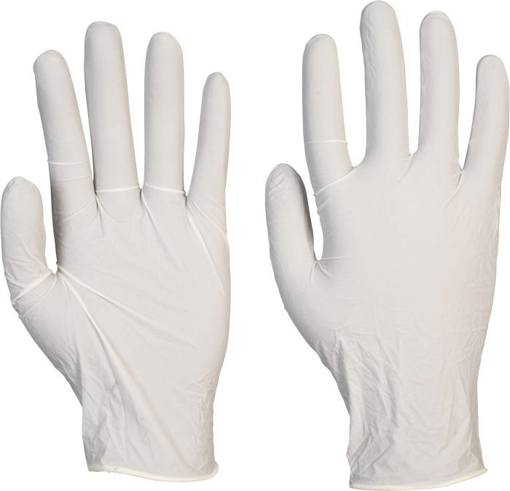 Obrázok z Dermik LB53 Pracovné jednorazové rukavice