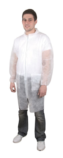 Obrázok z Ardon SPP PEPE Ochranný plášť biely
