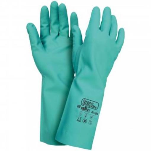 Obrázok z Industrial Starter Green Defender 07305 Pracovné rukavice