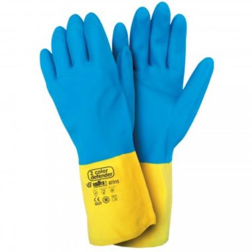 Obrázok z Industrial Starter Bicolor Defender 07315 Pracovné rukavice