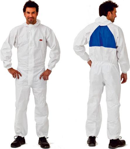 Obrázok z 3M 50198 Ochranný oblek biely