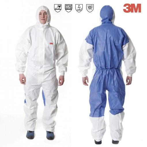 Obrázok z 3M 4535 Ochranný oblek biely