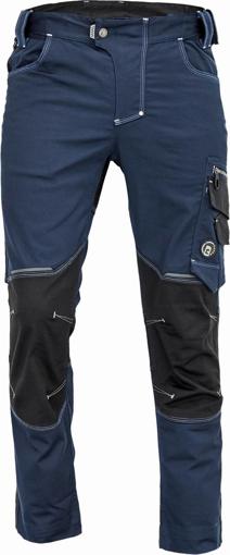 Obrázok z Cerva NEURUM CLASSIC Pracovné nohavice do pása navy
