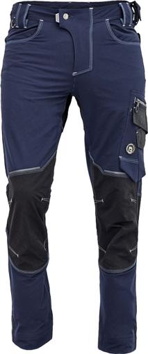 Obrázok z Cerva NEURUM PERFORMANCE Pracovné nohavice do pása navy