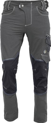 Obrázok z Cerva NEURUM PERFORMANCE Pracovné nohavice do pása antracit