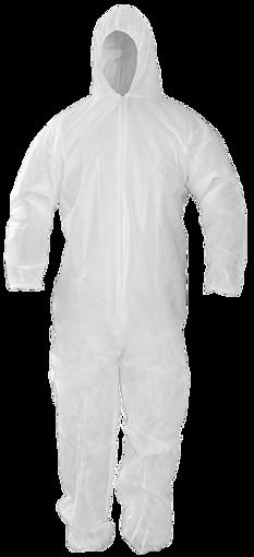 Obrázok z CONRIL Ochranný oblek biely