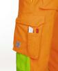 Obrázok z ARDON SIGNAL Pracovné nohavice do pása oranžové skrátené