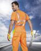 Obrázok z ARDON SIGNAL Pracovné nohavice do pása oranžové predĺžené